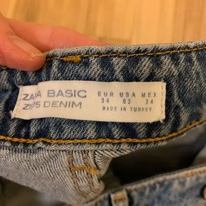 ZARA jeweled jeans sz 2 new